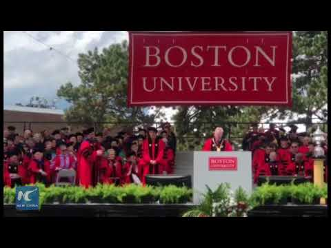 Chinese filmmaker ZhangYimoureceives honorary degree at Boston University