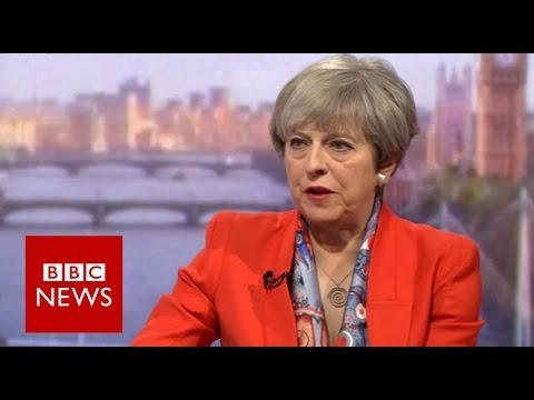 Theresa May (FULL) interview on Andrew Marr Show - BBC News
