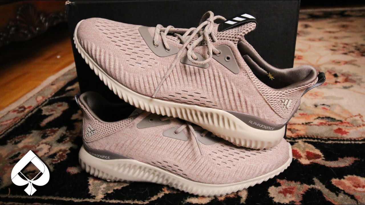 1c9fdda1e5472 Adidas Alphabounce EM Oxford Tan REVIEW