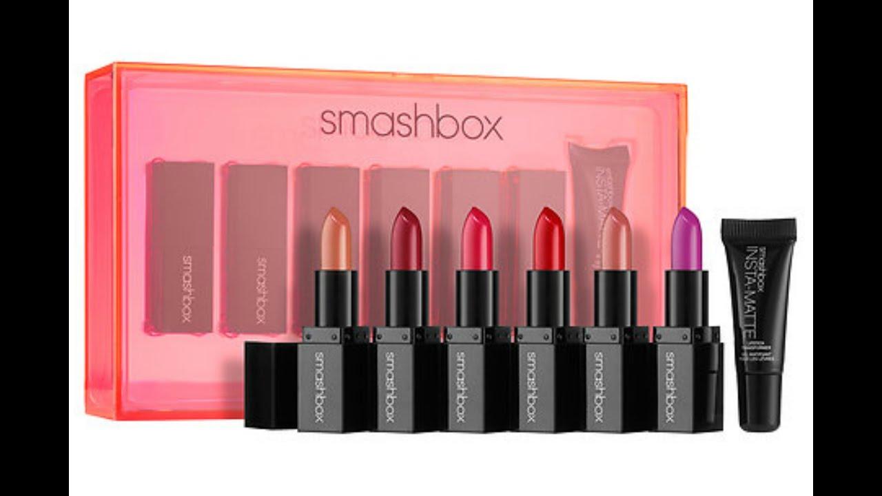 """Smashbox """"Light It Up Lipstick + Mattifier Set"""" Review ..."""