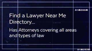 Find a Lawyer Near Me | Legal Questions