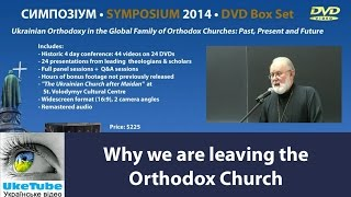 Why we are leaving the Orthodox Church