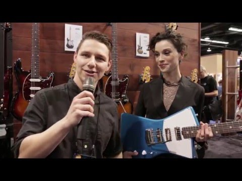 New from NAMM 2016 - Ernie Ball Music Man St. Vincent Signature