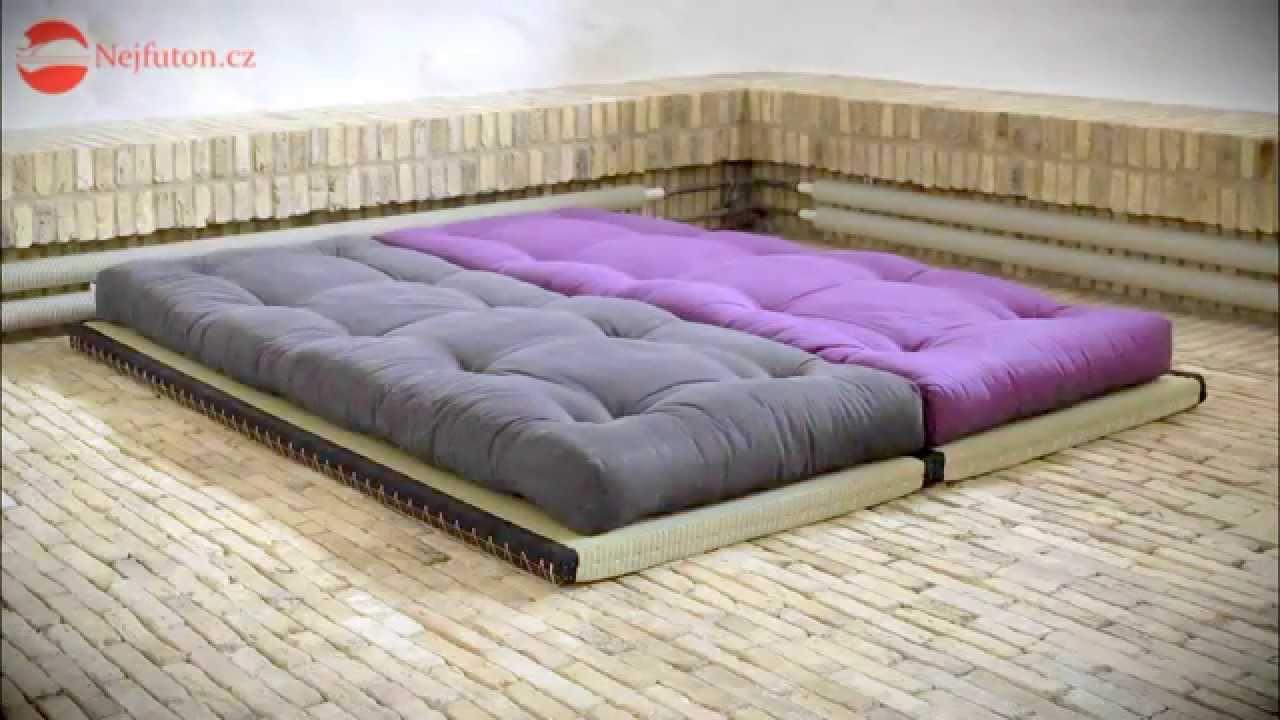 Futon Tatami asijský nábytek tatami