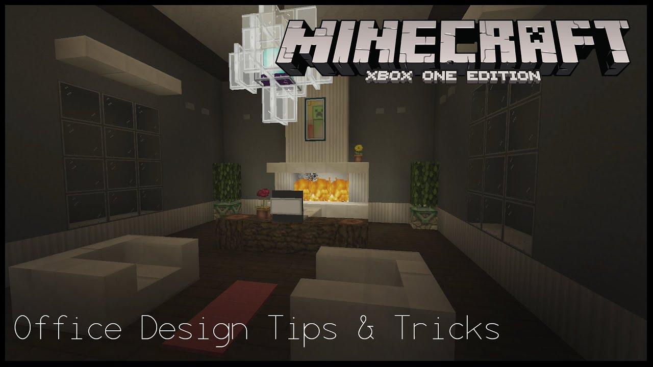 Minecraft xbox office design tips tricks youtube for Office design minecraft