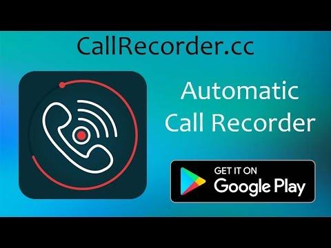 Automatic Call Recorder Android App Promo Video | callrecorder.cc | 1080p