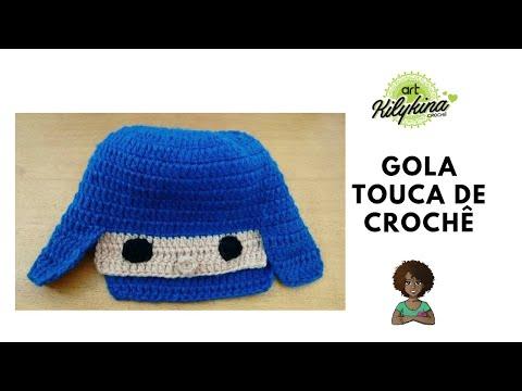 Touca Pocoyo Infantil - YouTube fd318be3527