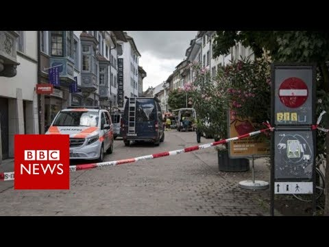 Switzerland: Five injured in Schaffhausen attack, say police - BBC News