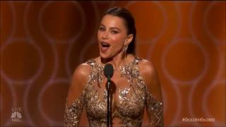 Sofia Vergara 'Anal' Golden Globes Blooper