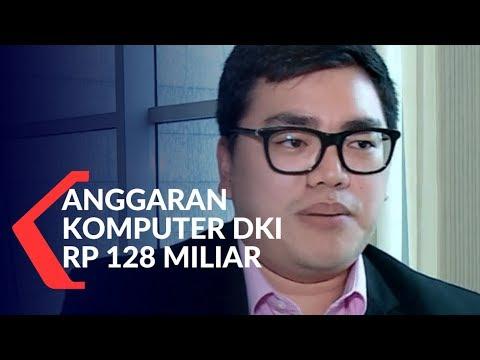 Soroti Anggaran Komputer DKI Rp 128 Miliar, Politisi PSI Dilaporkan