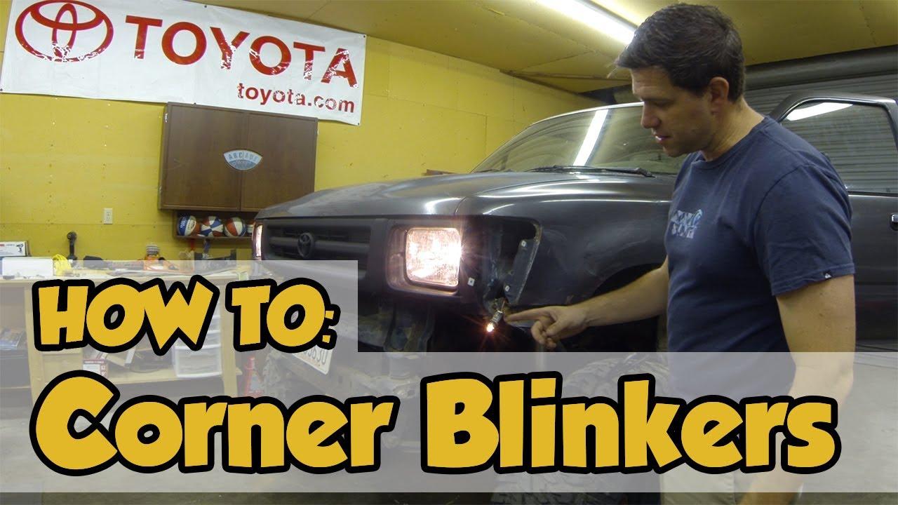 How To 01 Toyota Marker Lights Blinkers Youtube Truck Light Wiring Diagram