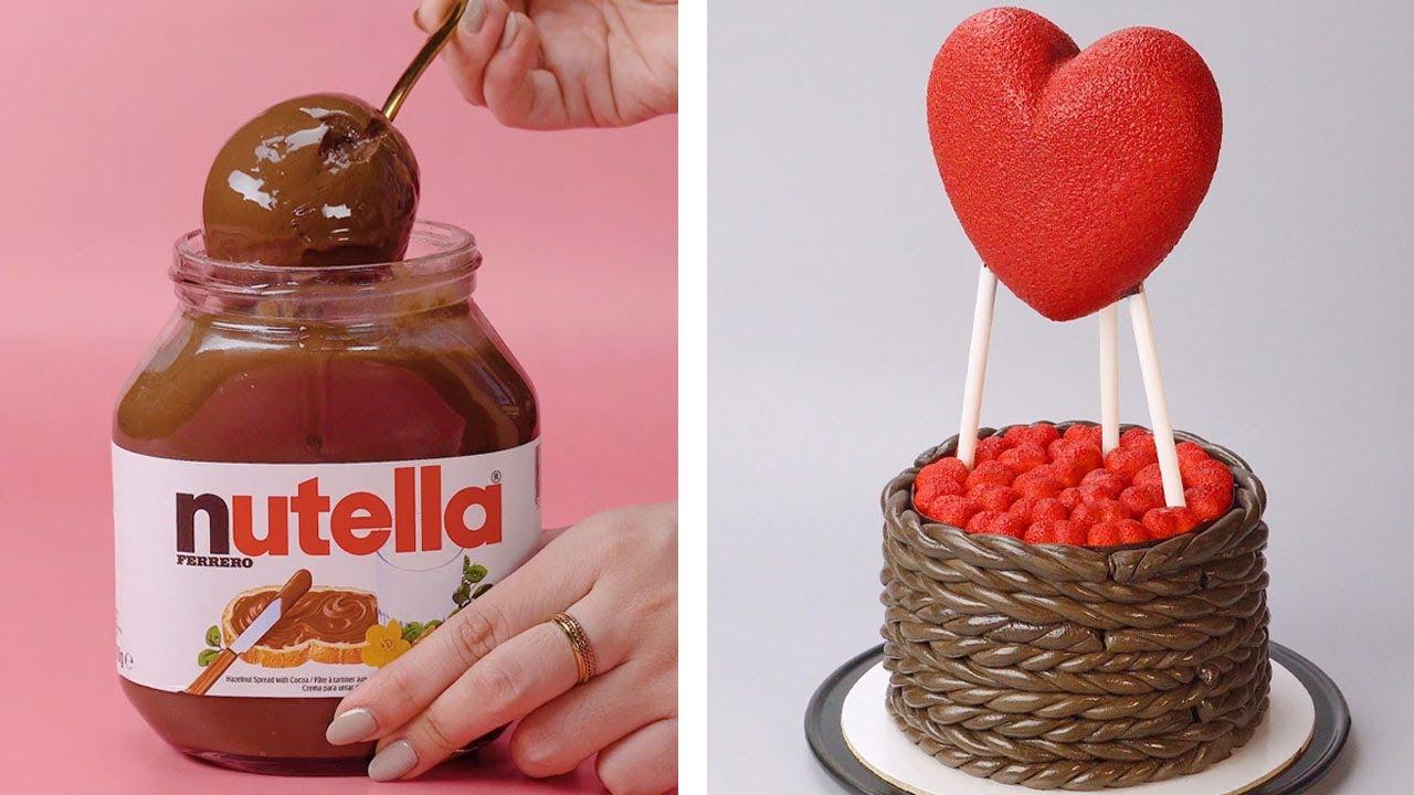 Fancy Chocolate Cake Decorating Idea   So Tasty Chocolate Cake Recipe Tutorials   Cake Time Ideas