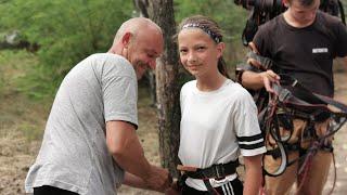 CZ21-Regiocamp z Szabelkami-Wawrzkowizna 2019-Obóz Piłkarski-Park Linowy Startuje Sabek i Gutek