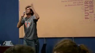 Pablo Nectar: Música Para las Abejas (Slam Style) Feria del Libro 2012