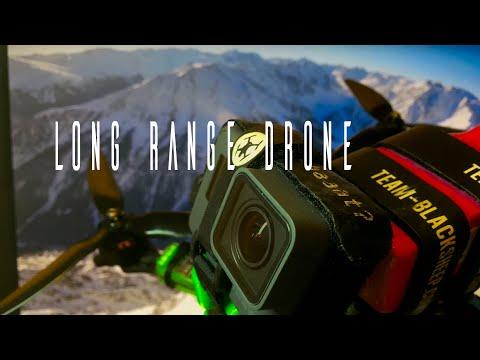 Long Range FPV Quadcopter   GoPro Hero 6