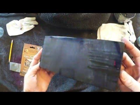 Black Wood Dye Used To Make A Very Clean Black Wood Stain