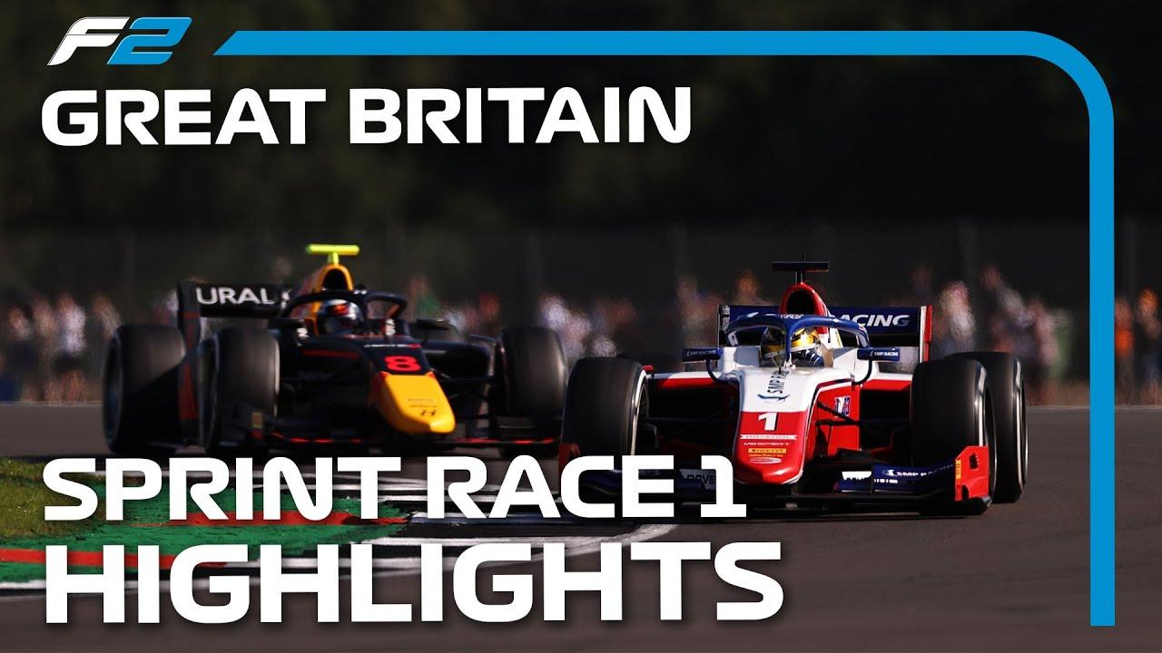 Download F2 Sprint Race 1 Highlights | 2021 British Grand Prix