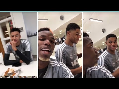 jesse lingard Birthday Surprise from Rashford & Pogba FAILED