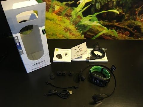 TomTom Runner 3 Music Unboxing