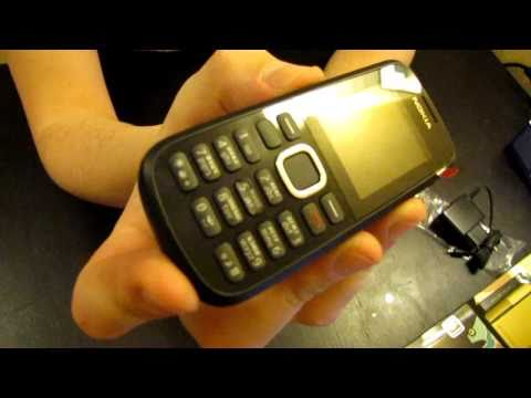 Nokia C1-02 review and unboxing [HD]
