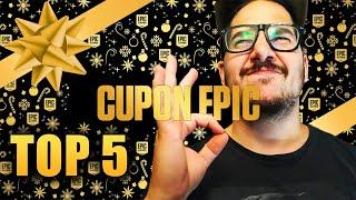 EPIC GAMES CUPON: COMO y QUE comprar con él- TOP 5 JUEGOS!