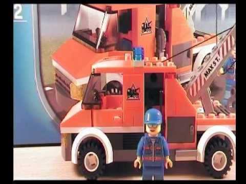 Lego City Tow Truck review 7638 - YouTube