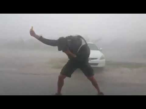 Hurricane irma  video compilation in 8 minute