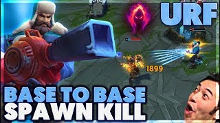 ACROSS THE MAP ONE SHOT | HOW DID I PULL THIS OFF | URF - BunnyFuFuu