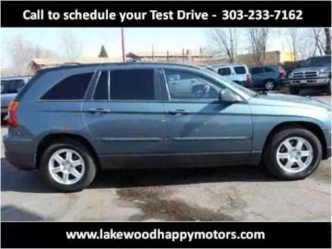 2006 chrysler pacifica used cars lakewood co youtube for Happy motors inc lakewood co