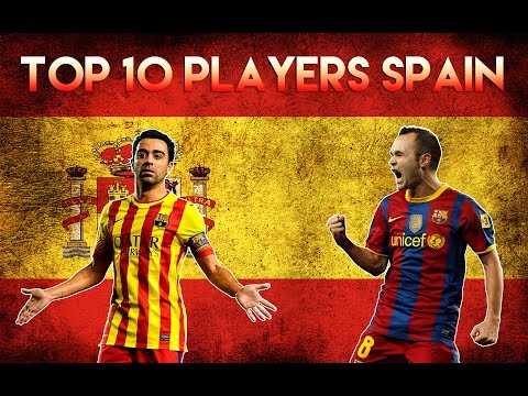 Top 10 Best Football Players Spain 2015 - Top 10 jugadores de fútbol España 2015