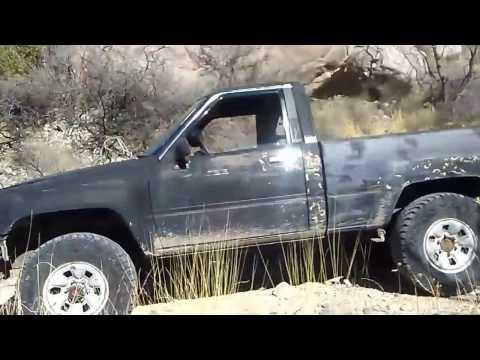 Descent from Modoc Mine, Las Cruces NM