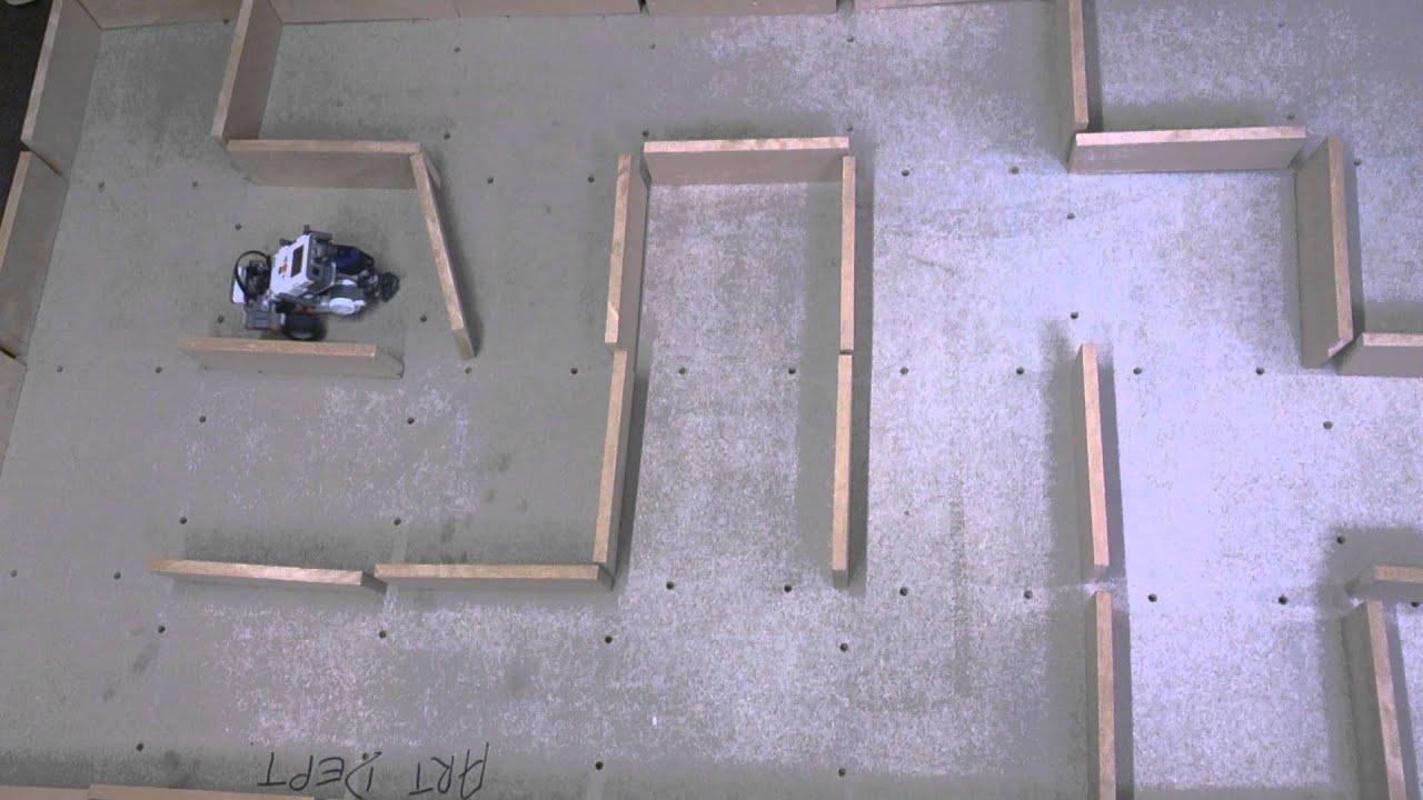 Lego Mindstorms Ultrasonic Maze Navigating Robot Pt.2 ...