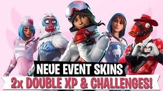 *New* Event Skins, Double XP, Challenges & Tournament! | Fortnite Battle Royale