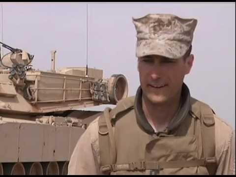 U.S. Marine M1 Tanks in Morocco