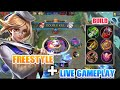 Fanny Freestyle+Live Gameplay | Mobile legends Bang Bang