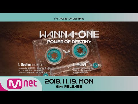 "Free Download Wanna One Go [preview] Wanna One ""1¹¹=1(power Of Destiny)"" 앨범 미리듣기 181119 Ep.22 Mp3 dan Mp4"