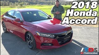 2018 Honda Accord Review & First Drive