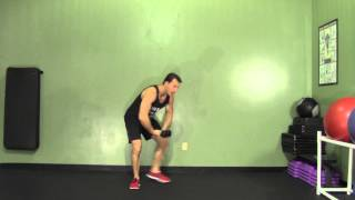 Dumbbell Reverse Fly + Goodmorning - HASfit Compound Exercises - Total Body Exercise