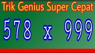 Trik genius Super Cepat Perkalian, bisa hanya dalam 3 detik,Coba saja, kamu pasti bisa MP3
