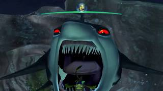 Shark Tale - HD Dolphin Gameplay - Gamecube