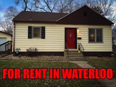 House for rent in Waterloo Iowa - 826 Hanna Blvd (319) 290 6797