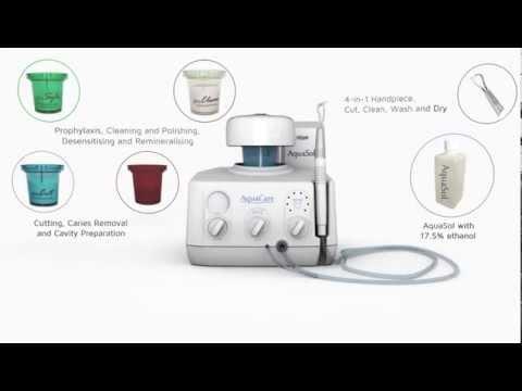Introducing AquaCare - Dental Air Abrasion and Polishing Unit
