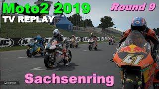 Moto2 Sachsenring 2019 | Championship #9 | TV REPLAY | MotoGP 19 PC GAME