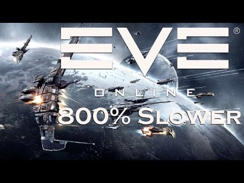 EVE Online - Below the Asteroids 800% Slower