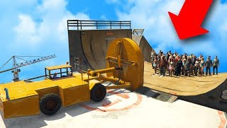 RAGDOLL GTA 5 BOWLING! *HILARIOUS!* | GTA 5 Mods