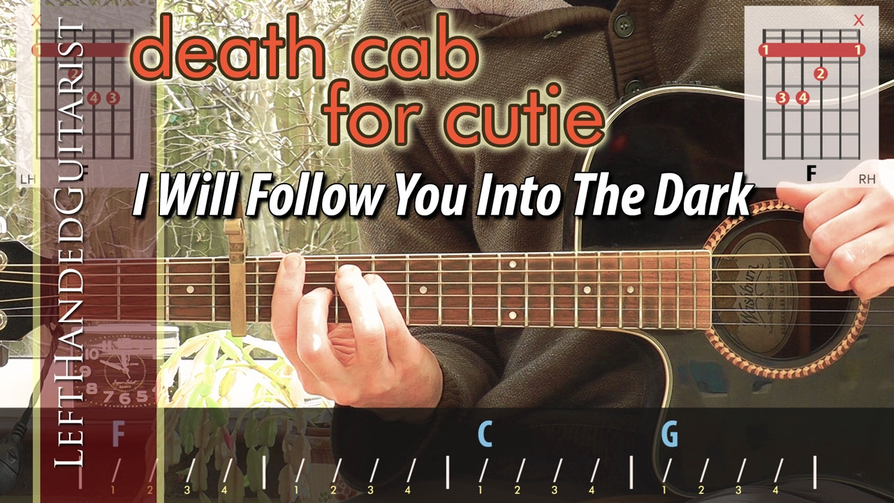 Death cab for cutie i will follow you into the dark guitar death cab for cutie i will follow you into the dark guitar lesson hexwebz Images