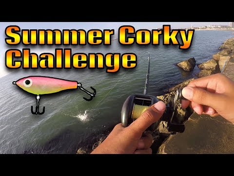 Summer Corky Challenge! | Fishing With Paul Brown Fatboy