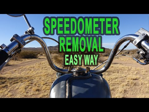 How To Remove Your Speedometer From Your Motorcycle