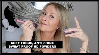 SOFT FOCUS, HD POWDERS TO BLUR SKIN IMPERFECTIONS