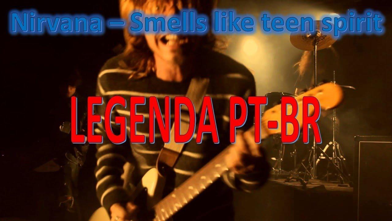 Nirvana - Smells Like Teen Spirit LEGENDA PT-BR - YouTube